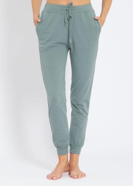 Lounge-Pants, grün