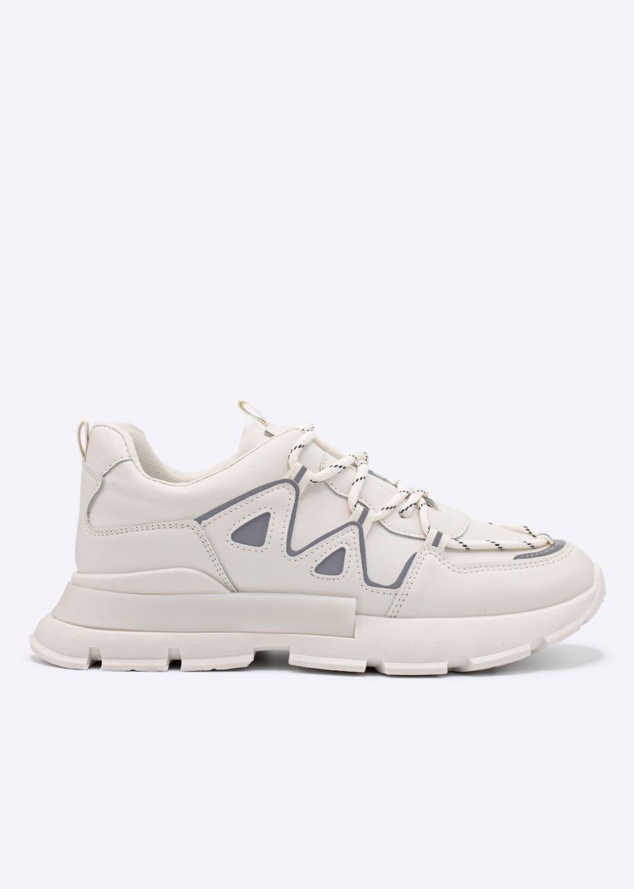 Chunky Sneakers, beige