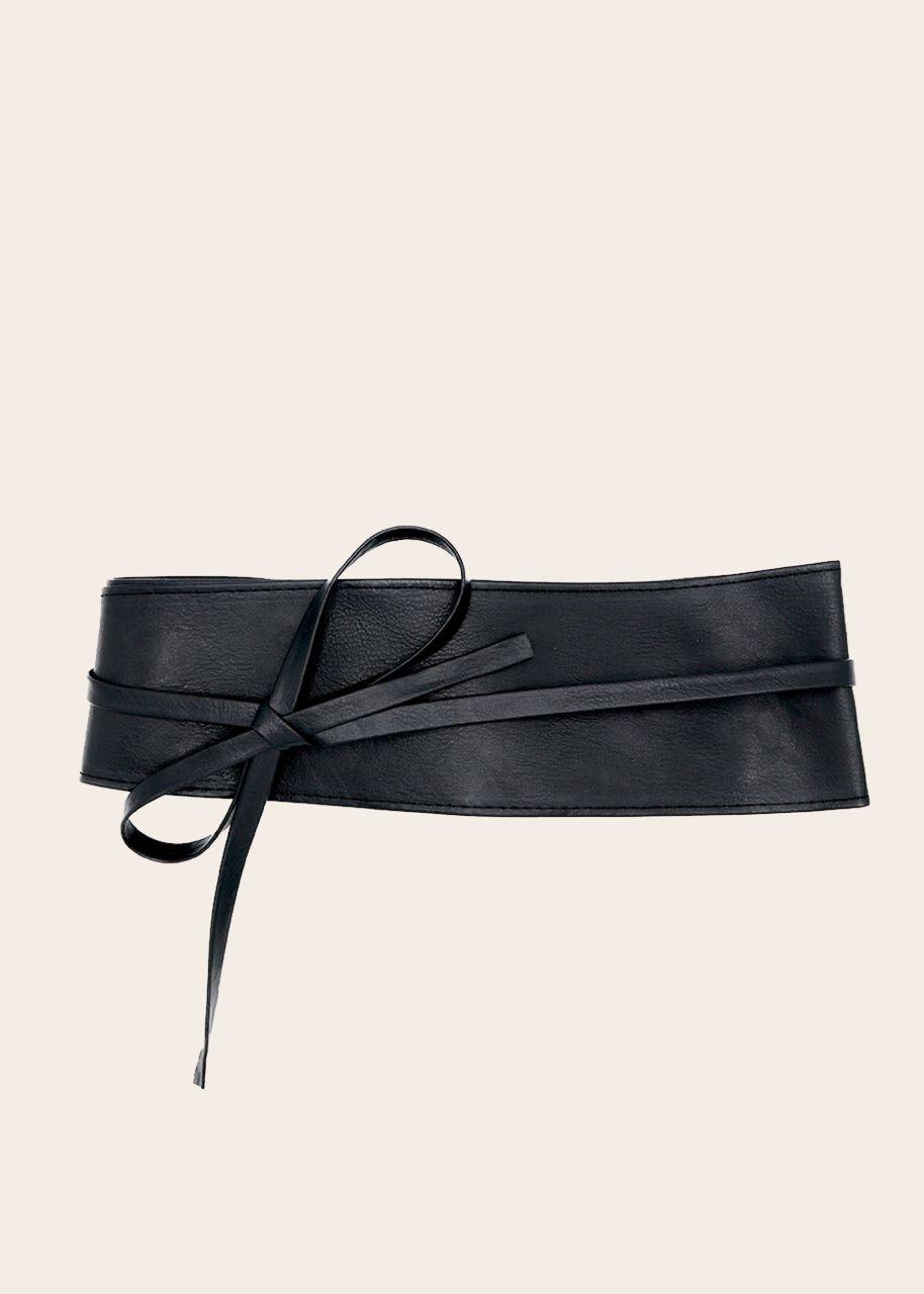 Bindegürtel, schwarz