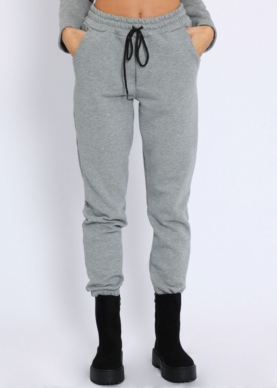 Cosy Loungepants, grau