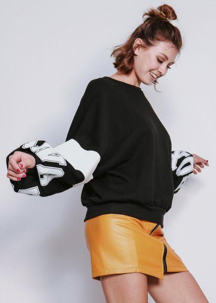 "Sweatshirt ""BOXING"", schwarz"