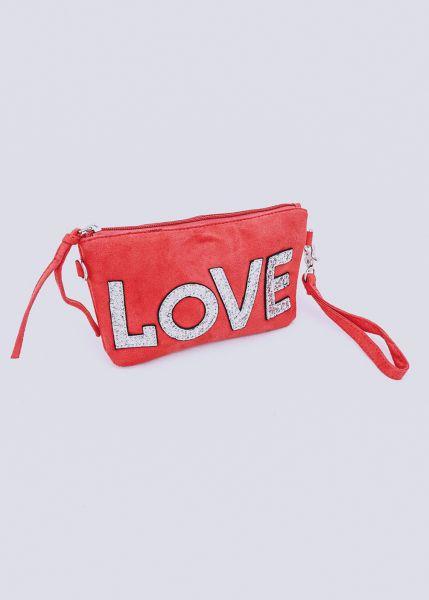 LOVE-Minibag, rot