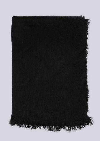 Schal, schwarz