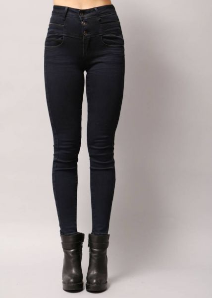 Highwaist navy Jeans