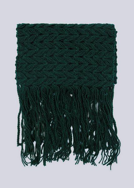 Schal, grün