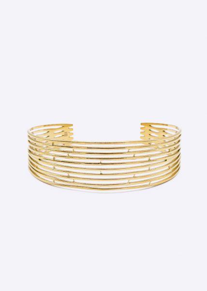 Filigraner Armreif, gold
