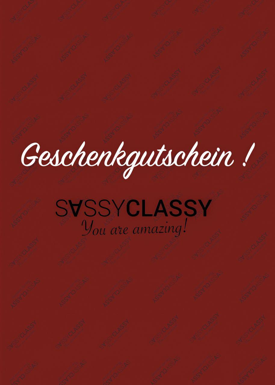 SassyClassy Geschenkgutschein