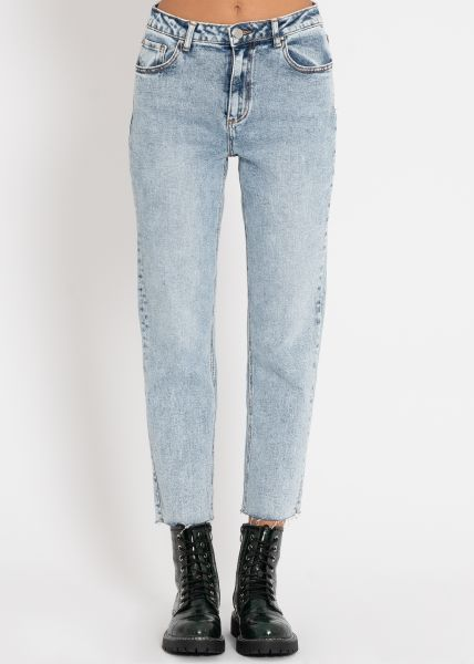 Relax-Fit Jeans, blau