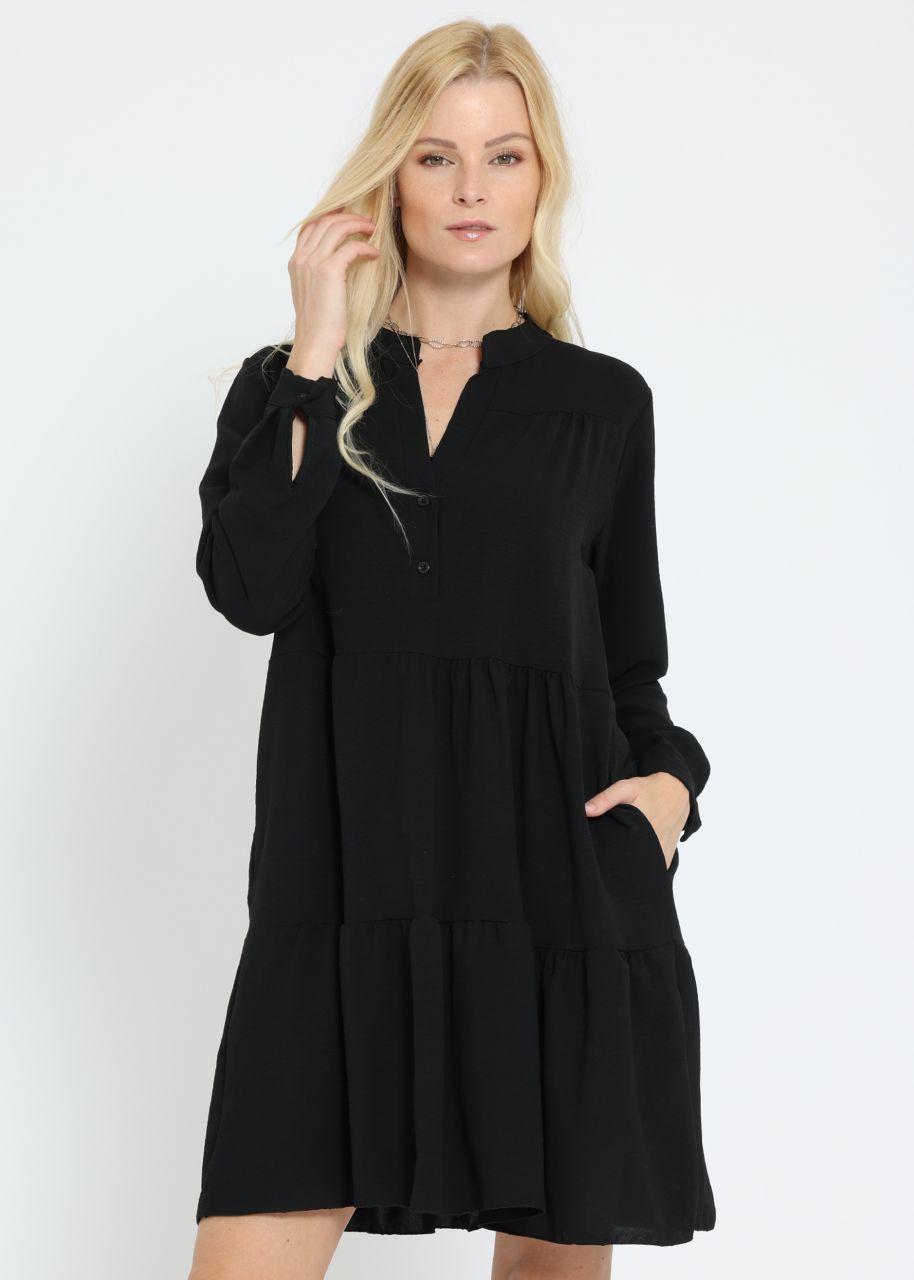 Hängerchenkleid, schwarz