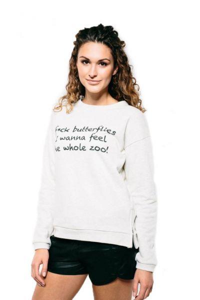F*ck Butterflies Sweatshirt