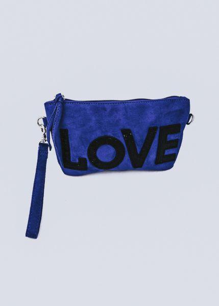 LOVE-Minibag, blau