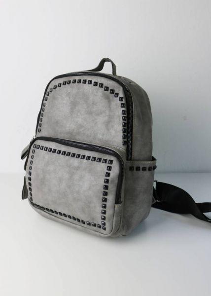 Mini-Rucksack mit Nieten