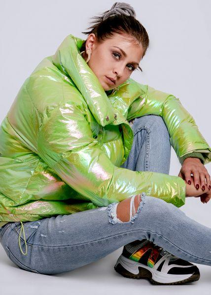Puffer-Jacket, grün