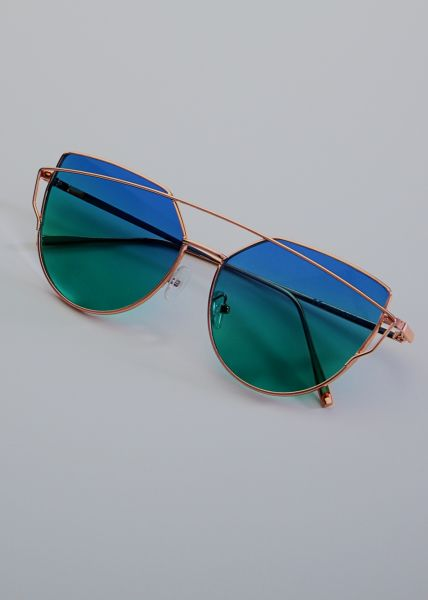 Must-Have Sonnenbrille, gold