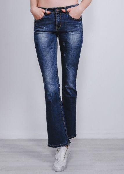 Leicht ausgestellte Jeans