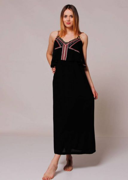 Maxi-Kleid, schwarz