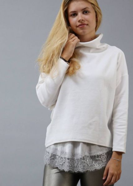 Oversize Sweatshirt, offwhite