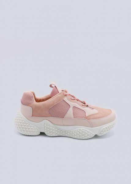 Plateau-Sneaker, rosa