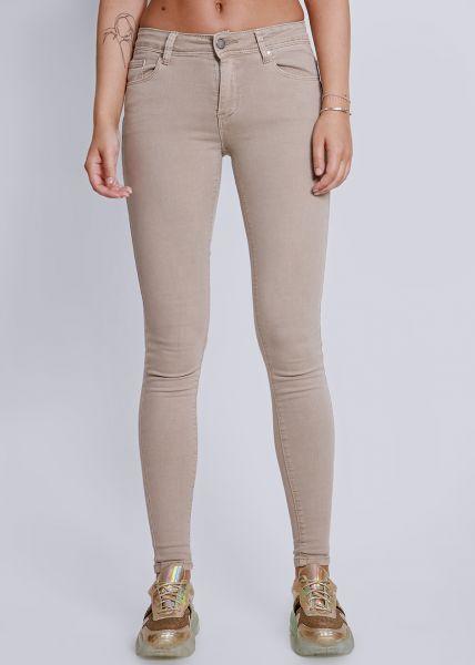 Push Up Jeans, beige
