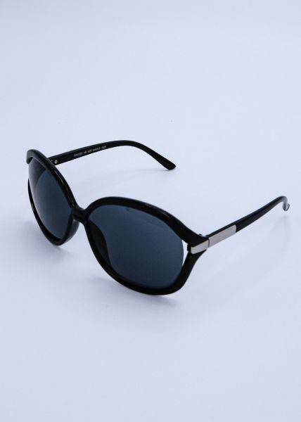 Große Sonnenbrille, schwarz