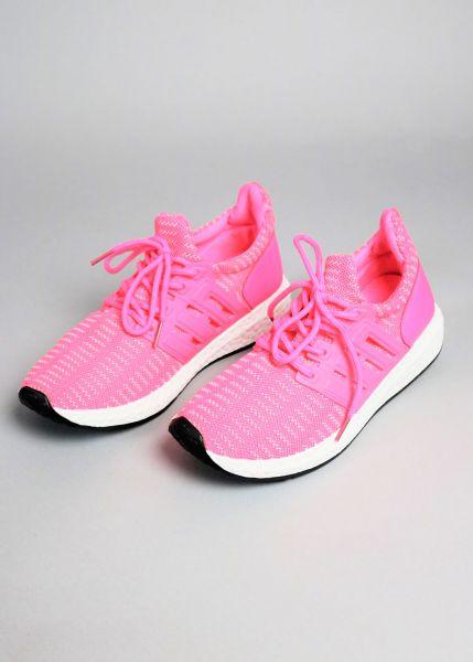 Sneaker, neonpink