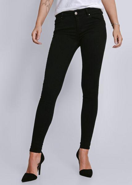 Push Up Jeans, schwarz