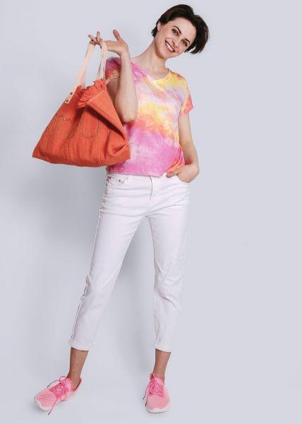 Batik-Shirt, pink