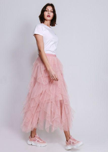 Tüllrock, rosa