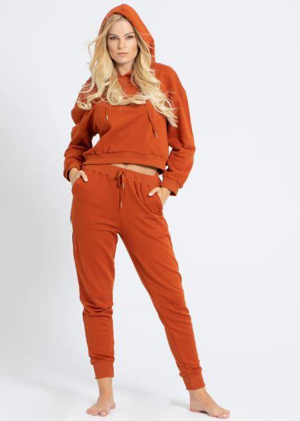 Loungewear-Zweiteiler, orange