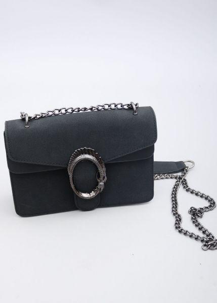 Velvet-Bag, schwarz