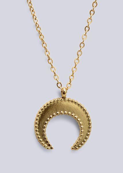 Mond-Kette, gold