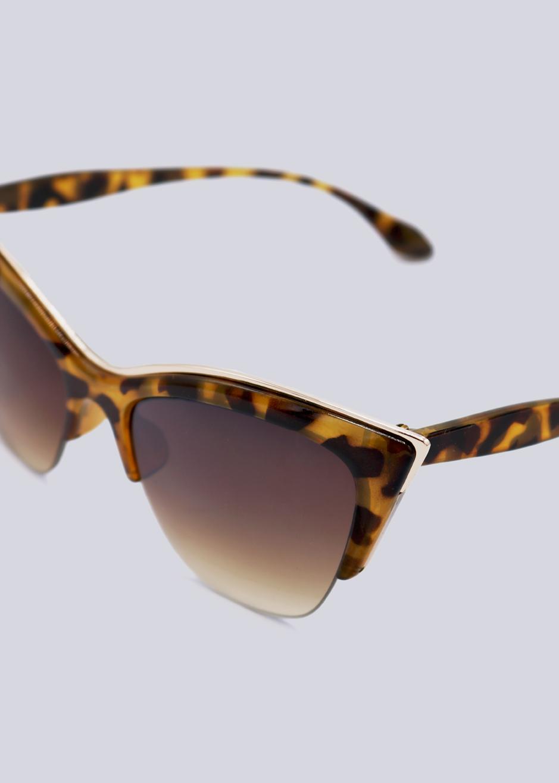 e01f2bcac2995b ... Leo · Vorschau: Cat-Eye Sonnenbrille mit gold Akzent, ...