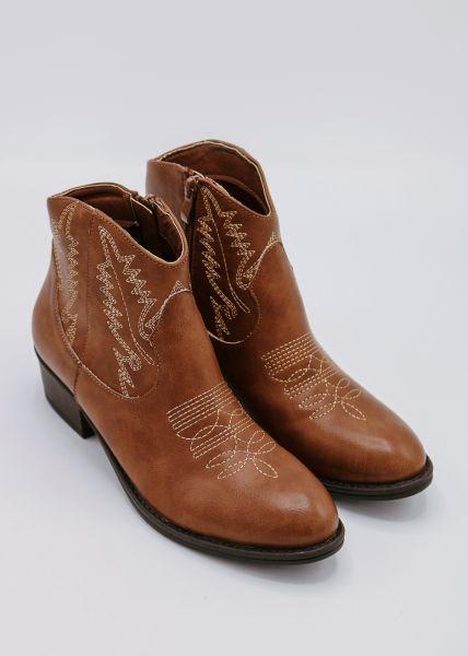 Western-Boots, braun