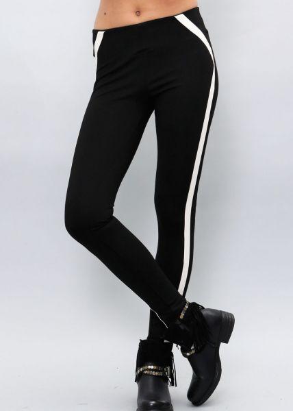 Leggings mit Streifen