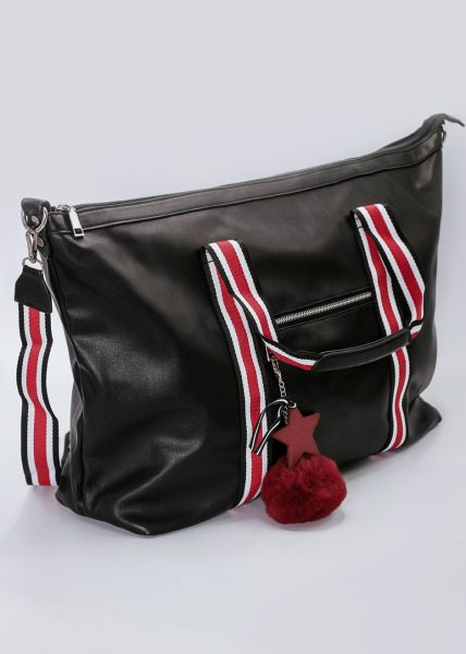 Weekend-Bag, schwarz