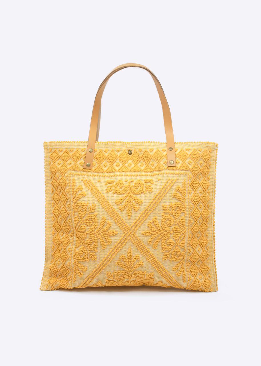 Shopper, gelb