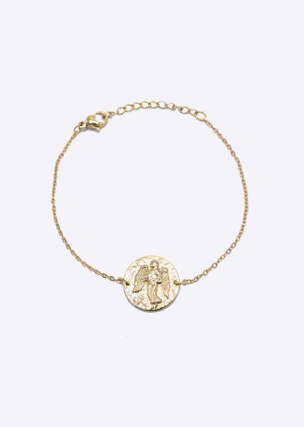 Armkette mit Sternzeichen Jungfrau, gold