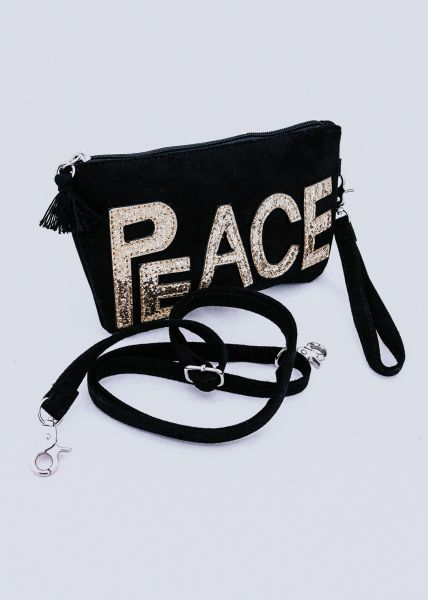 PEACE-Minibag, schwarz